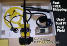 """White's Used Surf PI Dual Field Metal Detector with 12"""" Coil   FREE Shipping"""