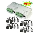 Amview HD 8Channel & 8X 1CH Passive BNC Video Balun Via Twisted Pairs System IP
