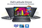 DELL LATITUDE E6320 LAPTOP WINDOWS 10 WIN INTEL i5 2.5GHz 2GB DVD-RW HDMI