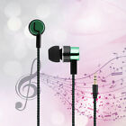 Noise Isolating Stereo 1.1M in-Ear 3.5mm Media Player Music Earphone NEW LH
