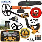 Garrett Metal Detectors ACE 400 With Waterproof Coil Pro-Pointer AT And Carry