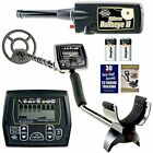 """Whites Metal Detectors Coinmaster W/ Waterproof 9"""" Spider Search Coil And II"""