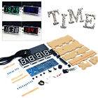 Fashion USB Home Decor LED Display DIY Kit 4-Digit Light Digital Clock