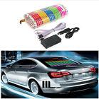 Unique Stylish Car Sticker Music Rhythm LED Flash Light Lamp w/ Charge So Cool