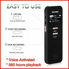 Digital Voice Activated Recorder For Lectures Meetings With USB MP3 Rechargeable