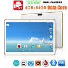 Octa-Core 10'' Android 5.1 Dual Sim 3G Bluttooth IPS Phone Pad Tablet US