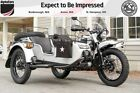 2018 Ural Gear Up 2WD Overland 002 Rainier White Ural Gear Up at AlphaCars & Ural of New England