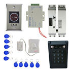 MagiDeal 1000 Fingerprint Door Access Control EM RFID Card Keypad Bolt Lock