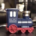 Train Shape USB Ultrasonic Air Purifier Aroma Diffuser Mist Humidifier Blue
