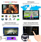 """7""""2 Din Capacitive Touch Car MP5 Player Bluetooth Wifi GPS Android 5.1 FM/AM/RD"""