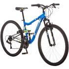 """27.5"""" Ledge 2.1 Men's Mountain Bike 21 Speed Aluminum Full Suspension Frame Blue"""