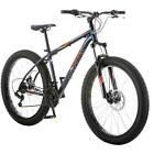 """27.5+"""" Terrex Men's Bike 21 Speed Twist Shifters Steel Frame Disc Brakes Blue"""