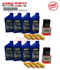 YAMAHA 242 Limited S Boat Maintenance Kit NGK Spark Plugs Oil Change Filter 69J