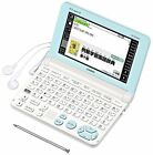 New Casio Electronic Dictionary Ex-Word Xd-Sk2000We White Learn Japan F/S