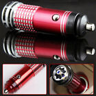 Red Universal Car Fresh Air Ionic Purifier Oxygen Bar Ozone Ionizer Cleaner