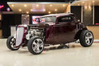 Ford 3-Window Coupe Street Rod 3-Window Coupe! Ford 408ci V8 Crate Engine, Auto, 4-Wheel Disc, Morrison Frame