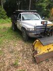 2001 Dodge Ram 3500  2001 Dodge 3500 dump truck with plow SUPER low mileage
