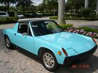 1974 Porsche 914 targa two owner olympic blue original fuel injection nicely redone