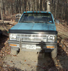 1992 Chevrolet S-10  1992 CHEVROLET S10 4 Wheel Drive Pick Up Truck With Solid  Frame Needs a Rear