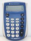 Texas Instruments TI-503SV Handheld Calculator, Eight-Digit LCD (Blue)