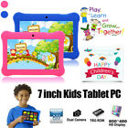 """2018 New version 7"""" Google Android Tablet 8GB Bundle Case for Kids Gift Game TB"""