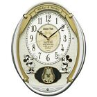 New Seiko Clock Disney Time Mickey Friends Wall Clock FW567W Japan Fast Shipping