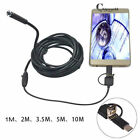 Waterproof HD Android Type-C USB Endoscope Inspection Camera 5.5mm 6 LED 640x480