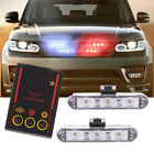 Car TrucK Police Strobe Emergency 3 Flashing Light 3 LED Warning Lamp Bar 3 Mode