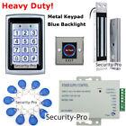 125KHZ RFID Card+Password Metal Door Access Control System+Door Magnetic Lock