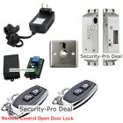 Door Access Control System + Electric Drop Bolt Lock +2PCS Remote Controls Open