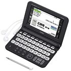 Casio Electronic Dictionary EX-word XD-K6700BK Black New For Learn Japanese