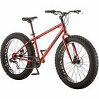"""Mongoose Hitch Fat Tire Bicycle, Red, 26"""""""