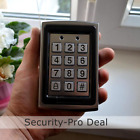 125KHz RFID Card + Password Metal Door Access Control Keypad with Backlight TOP