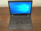 "DELL LATITUDE E7450 14"" Laptop Intel i5-5300U 256GB SSD 16GB RAM WIN 10 BT CAM"