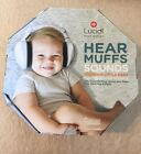 New LUCID AUDIO Infant Muff Active w/Sounds LU-INFANT-ASM-WH 812944023478