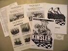 5 Kinsler Fuel Injection Catalog Gauges Manifolds Hilborn Vintage Racing 1980s