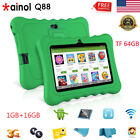"""7"""" Kids Tablet PC Android Quad Core 1+16GB WIFI+3G 2*Cam Bundled Case Learning"""
