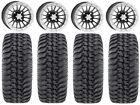"""ITP SD Beadlock 14"""" Wheels 32"""" Regulator Tires Textron Wildcat XX"""