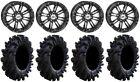 "STI HD3 14"" Wheels Black 26.5"" Intimidator Tires Textron Wildcat XX"