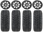 "STI HD3 14"" Wheels Black 32"" Regulator Tires Textron Wildcat XX"