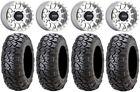 "Method 401 14"" Beadlock Mch (4+3) Wheels 30"" Ultracross Tires RZR TS/RS1"