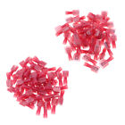 MagiDeal 100 Pieces 22-16 Gauge Nylon Fully Insulated Spade Terminals Kit