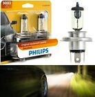 Philips Standard 9003 HB2 H4 60/55W Two Bulbs Head Light Replace Snowmobile