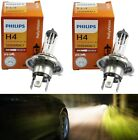 Philips Rally Vision 9003 HB2 H4 100/90W Two Bulbs Head Light Replace Snowmobile