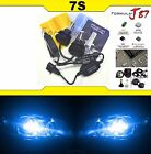 LED Kit 7S 50W 9008 H13 10000K Blue Two Bulbs Head Light Replacement Snowmobile