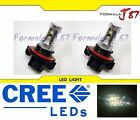 CREE LED 50W 9008 H13 Stock 3000K Two Bulbs Head Light Replacement Snowmobile
