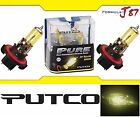 Putco 3000K Yellow 9008 H13 230013JY 60/55W Two Bulbs Head Light Snowmobile