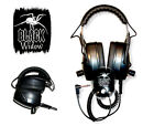 DetectorPro Black Widow 150 ohm Metal Detector Headphones - Free Shipping