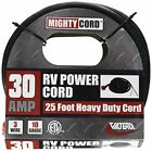 30Amp Rv Non-Detachable Power Cord 25Ft