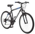 "Mountain Bike 26"" Inch Rugged Terrain Outdoor Men's 18 Speed Bicycle Black"